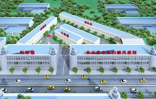 北京中科白癜风 医院全景图